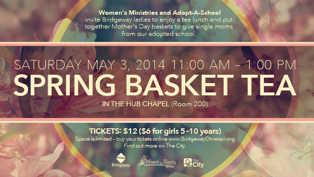 Spring Basket Tea 2014