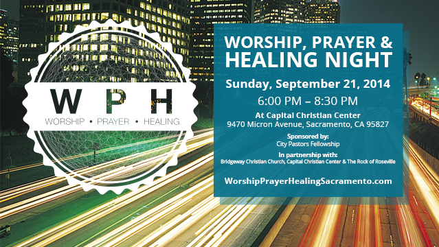 Banner - Worship, Prayer & Healing Night 2014